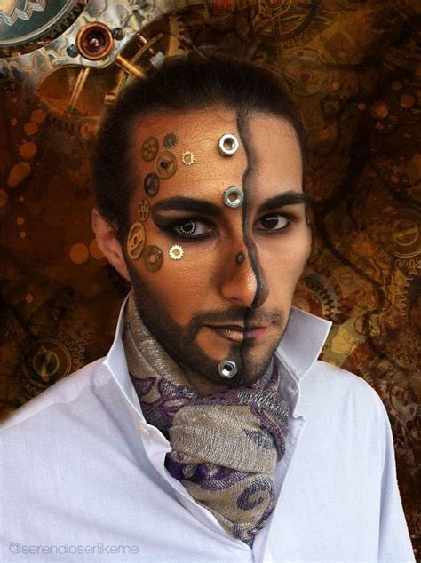 Steampunk Hero Makeup Tutorial · How To Create A Face