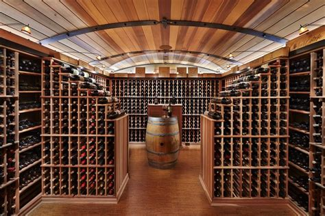 This functional wine cellar can store 3,000 bottles