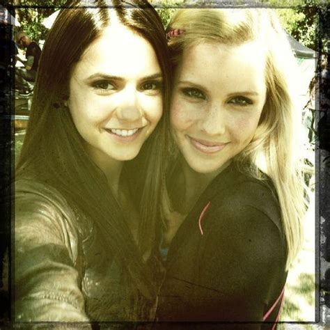 Nina and Claire - The Vampire Diaries TV Show Photo
