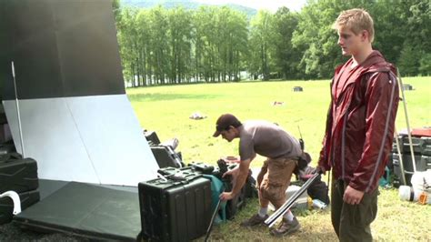 Exclusive: Behind the scenes of 'Hunger Games' – The