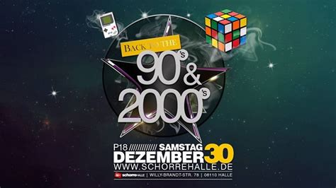 Party - Back to the 90s & 2000s | P18 - Schorre Halle in