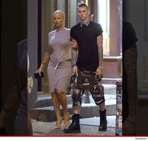 Amber Rose & Machine Gun Kelly Spotted Together Again In