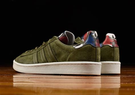adidas Campus Olive Suede BB0077 | SneakerNews