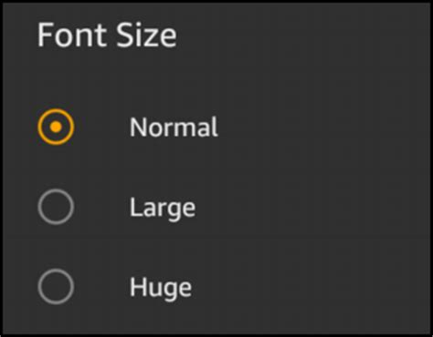 Increase font size on Amazon Kindle? - Ask Dave Taylor