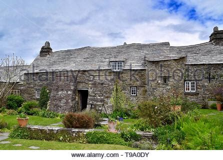 The Old Post Office (NT) Tintagel Cornwall England UK