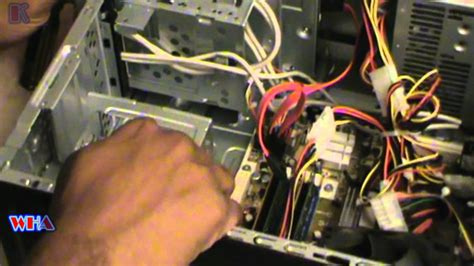 How To Replace HP Pavilion Desktop Hard Drive - YouTube