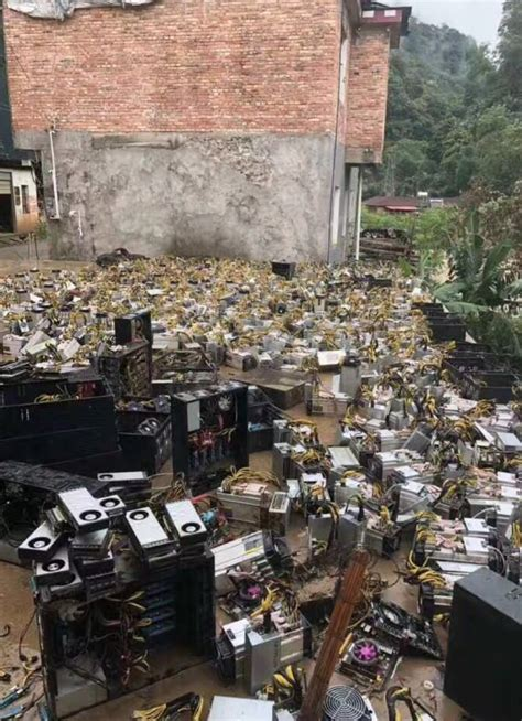 china flood takes out mining gear june 2018