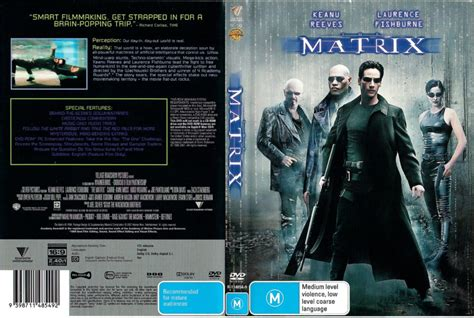 The Matrix (1999) R4 DVD Cover - DVDcover