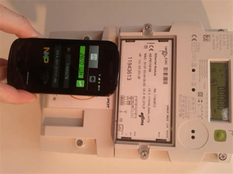 NFC Smart Meter Demo by NXP and Landis-Gyr