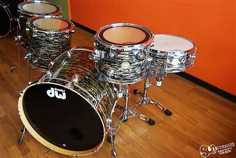 DW Collectors Series black oyster glass   Reverb