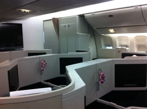 Inside Cathay Pacific's new Boeing 777-300 business class