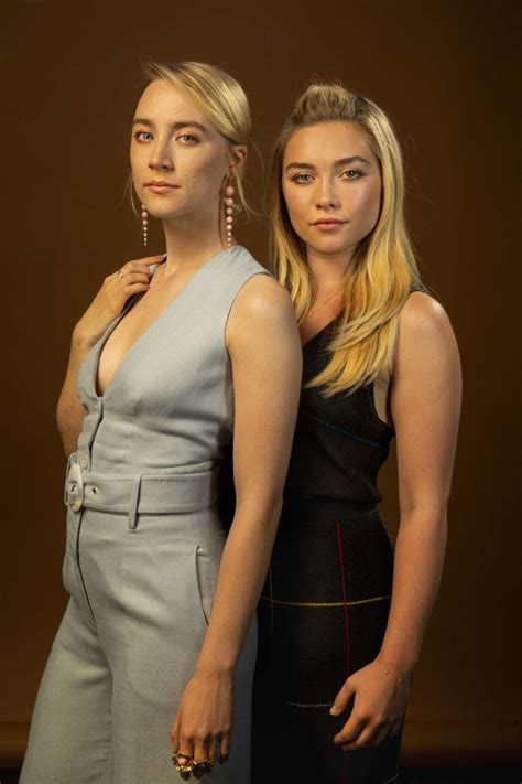 Saoirse Ronan and Florence Pugh for LA Times 2019-04