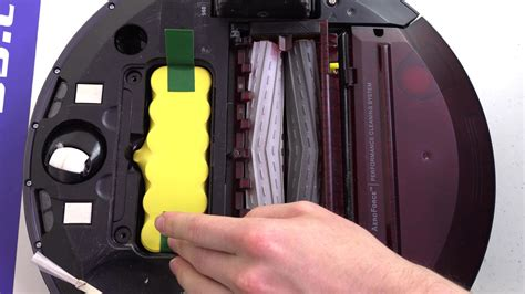 How to Replace Your iRobot Roomba 960 Battery - YouTube