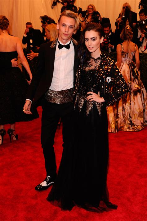 Lily Collins And Jamie Campbell Bower Split