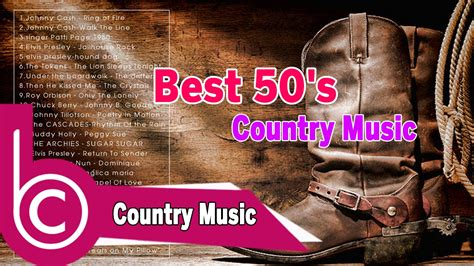 Best 50's Country Music - Classic 50's Country Songs