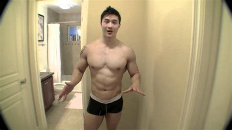 Shaving for Men's Physique Competition - YouTube