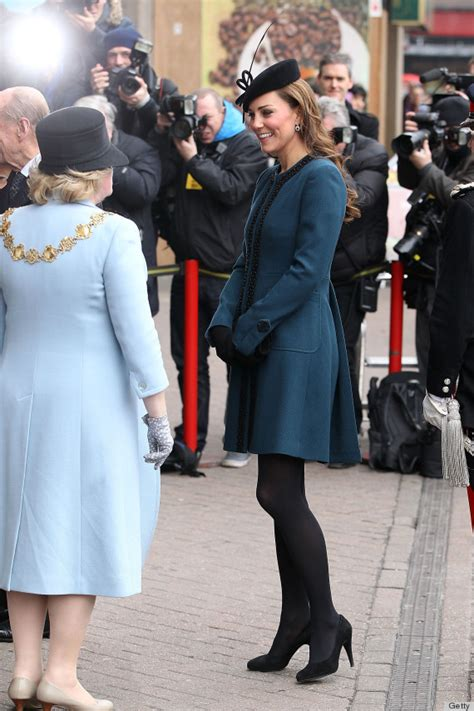 Kate Middleton Rides The Tube With The Queen In Dress Coat