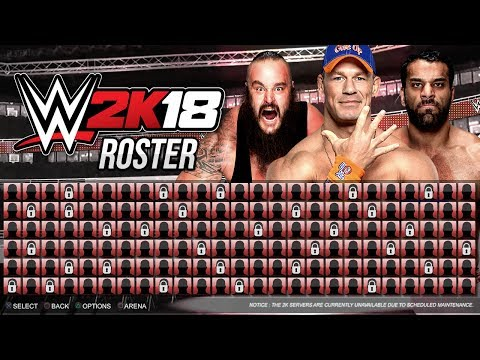 WWE 2K18 roster adds Alexa Bliss, TJP and the best tag