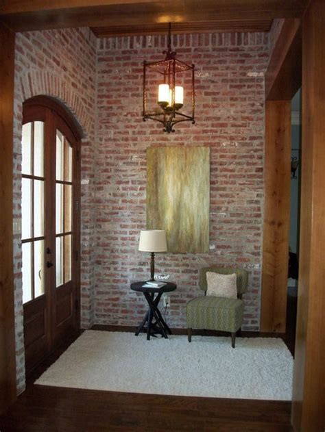 Brick Wall Mortar Home Design Ideas, Pictures, Remodel and