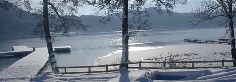 Winter am Klopeinersee - Pension Tulpe - St