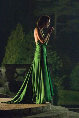 """The Glam Guide: Keira Knightley and """"Atonement"""" Green Dress"""