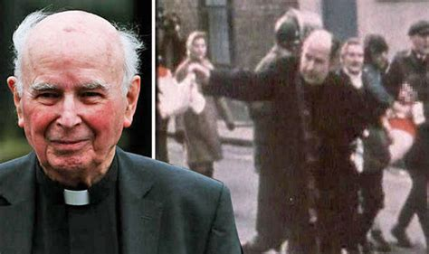 Priest who waved bloodied white handkerchief at Bloody