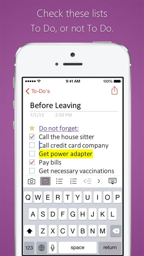 Microsoft OneNote App Gets Support for Touch ID and iPhone