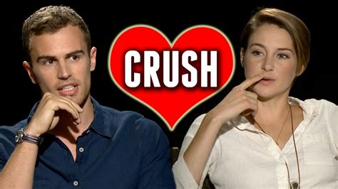 Which Celebrity is the Divergent Cast Crushing On? - YouTube