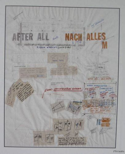 Lawrence Weiner # NACH ALLES AFTER ALL# mint, 2000 | ftn books