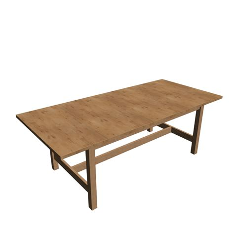 NORDEN Extendable table, birch - Design and Decorate Your