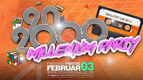 Party - Millennium Party - Back to the 90s & 2000s | P18