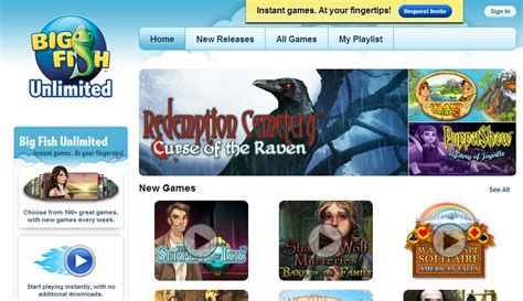 Play Games Online with Big Fish Unlimited! - The Rebel Chick