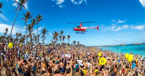 10 Of The World's Wildest Beach Party Destinations