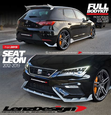 SEAT Leon 5F Body Kit from Lenzdesign Gets the Job Done