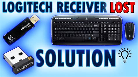 Logitech LOST wireless receiver replacement 2018-2019
