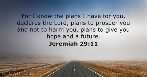 Jeremiah 29:11 - Bible verse of the day - DailyVerses