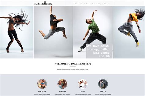 """""""Dancing Queen"""" Exciting New HTML Template"""