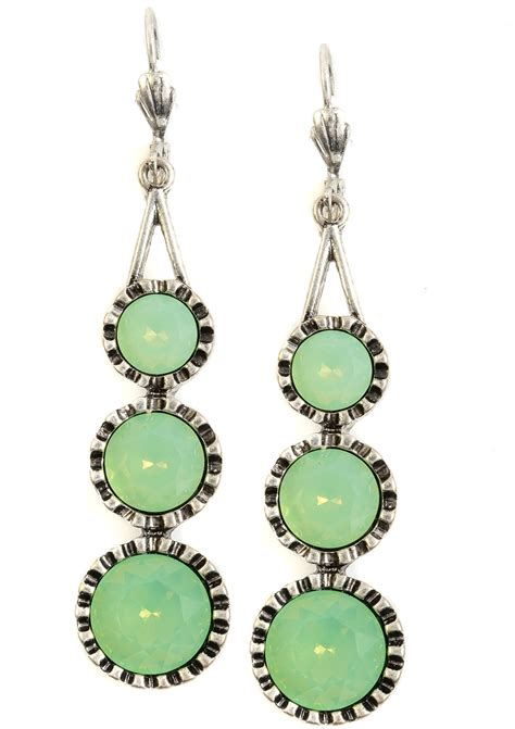 Pretty Mint Statement Earrings - Happiness Boutique