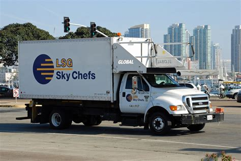 LSG Sky Chefs | LSG Sky Chefs Ford F650 catering truck at