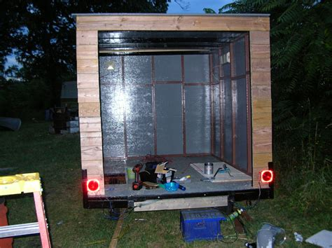 Build Your Own Enclosed Trailer Using A Pop-Up Camper
