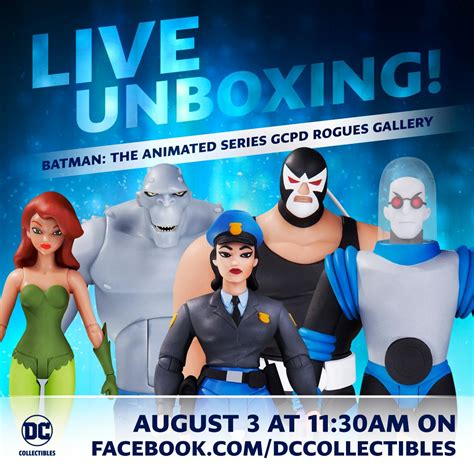 """DC on Twitter: """"Stream our live unboxing of the Rogues"""