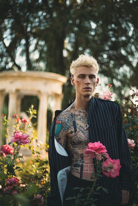 Machine Gun Kelly is Galore's first straight male cover