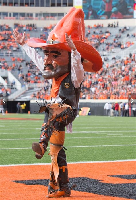 Studying, representing OSU as Pistol Pete keeps MBA