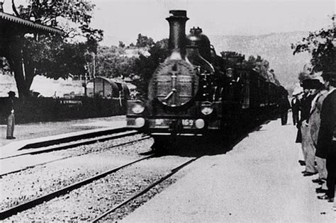 The Arrival of a Train, directed by Auguste Lumière and