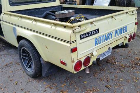 Mid-Engined Big Block 1974 Mazda Pickup Up For Grabs on