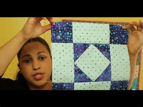 How to make an Amish Diamond Quilt Block- Block #2 of 12