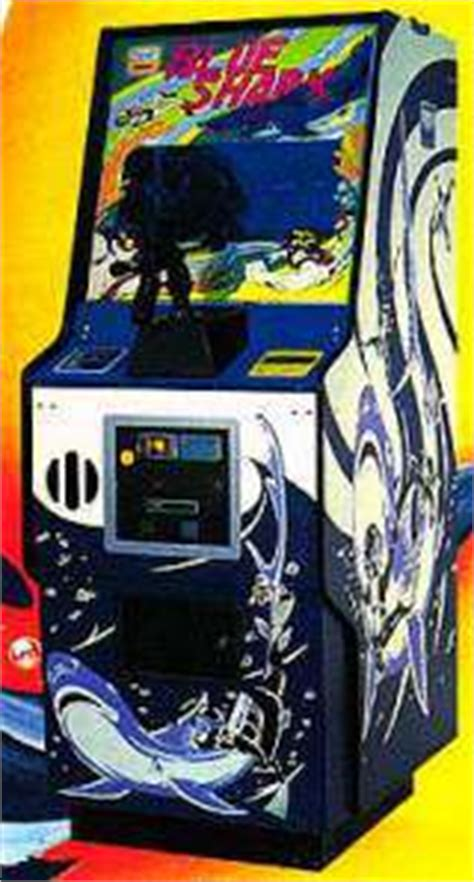 Blue Shark, Arcade Video game by Taito (1978)